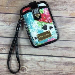 BETSEY JOHNSON : Wallet Phone Holder Wristlet